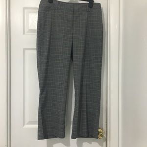 5 for $50 Lane Bryant plaid trousers